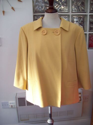 For J giallo Rrp Debenhams 20 classica Bnwt's Taylor 65 Uk senape £ Giacca twUT6qWZX