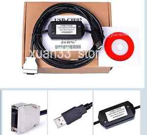 New PLC Programming Cable USB-CQM1-CIF02 For Omron CPM1A/CPM2A/C200H/CQM1 USB