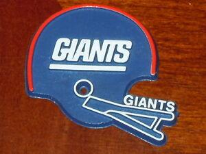 designer fashion 11dda cf697 NEW YORK GIANTS Vintage Old NFL RUBBER Football FRIDGE ...