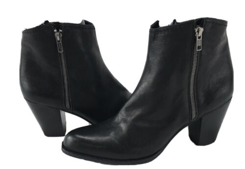 Stuart Weitzman Leather Ankle Boots Women 12 R148