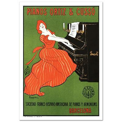"""""""Piano Ortiz and Cuzzo"""" Hand Pulled Lithograph by the RE Society"""