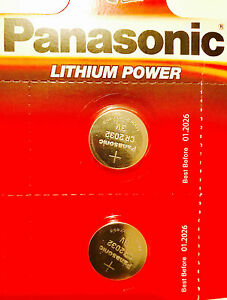 2-X-Panasonic-CR2032-3V-Lithium-Coin-Cell-Battery-2032-UK-Trusted-Seller