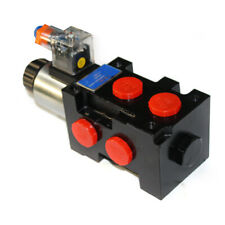 Hydraulic Solenoid Operated Selector Diverter Valve 12 Volt Dc