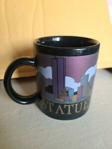 NYC-034-Statue-of-Liberty-034-Collectible-Vintage-Coffee-Cup-Mug-Great-Condition