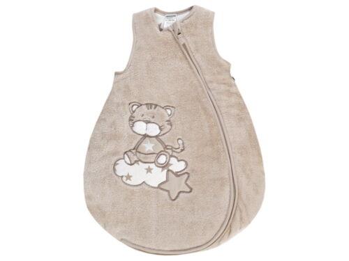 """sin mangas Fleece talla 50//56 hasta 86//92 /%/% jacky bebé saco de dormir /""""tigre/"""" invierno"""