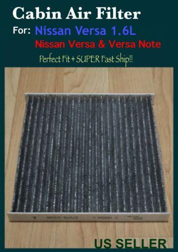 Carbon Element Cabin Air Filter For Nissan VERSA 2014-2018 VERSA VERSA NOTE