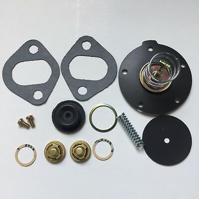 a14,a15 Datsun 1200 Fuel pump blockoff plate gasket a12