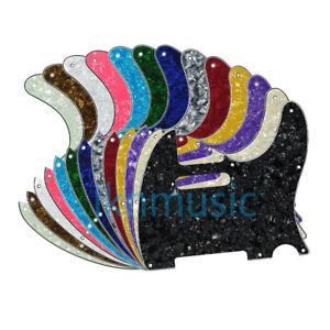 Standard-Tele-Guitare-Pickguard-8-Trous-Plaque-Scratch-de-rechange-pour-TL-Telecaster-guitare