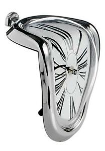 New Salvador Dali Inspired Melting Wall Clock Persistence