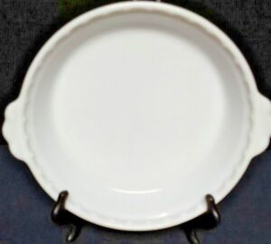 Image is loading Vintage-Pyrex-White-Milk-Glass-Pie-Plate-8- & Vintage Pyrex White Milk Glass Pie Plate 8 1/2\