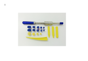 Paintless dent repair  1.2kg slide hammer, glue Puller With tabs & tap downs