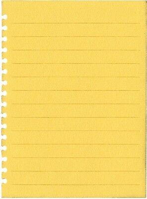 """Quickutz """"REV 0194-S Revolution Die """"Notebook Sheet"""" Size: 2.5""""x3.5""""  NEW"""