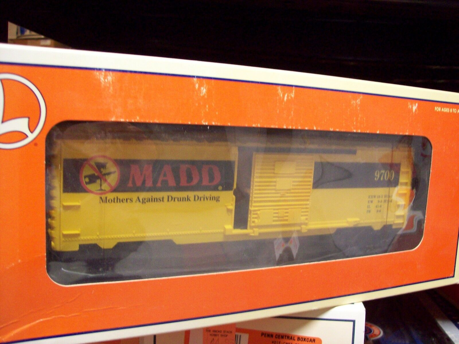 Lionel O Gauge Trains M.A.D.D. Box Car 6-26239