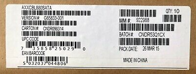 Intel AXXCBL850MS7R Cable Kit New Bulk Packaging