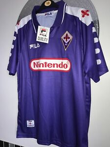 FIORENTINA-BATISTUTA-1998-1999-RETRO-FOOTBALL-SHIRT-Medium-large-SEE-DESCRIPTION