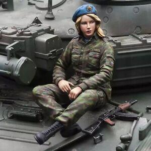 1-16-Resin-Figure-Model-Kit-Russia-Sexy-Girl-Modern-Infantry-no-Tank-Unpainted