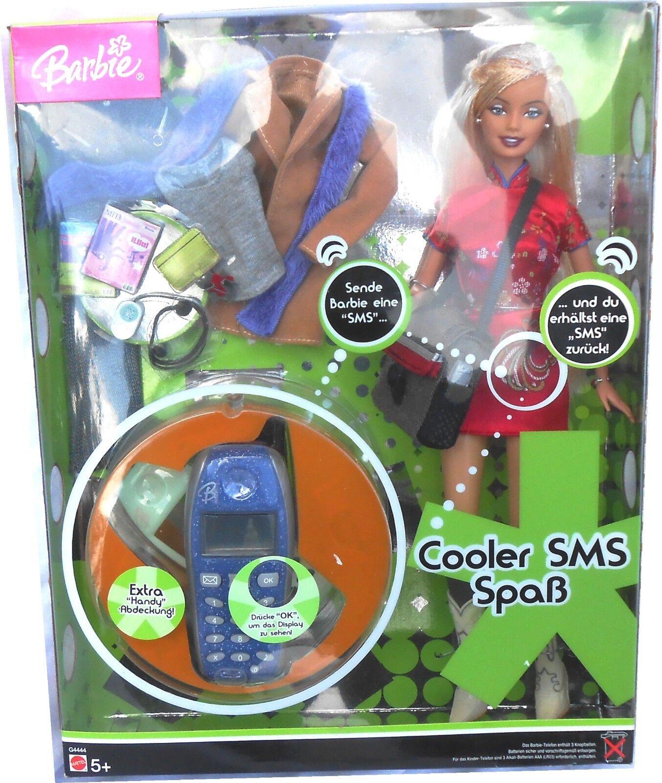 MATTEL G4444 Barbie - Cooler SMS Spaß, 1:6, OVP (mb)