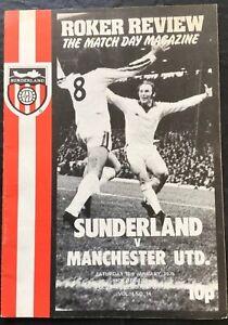 SUNDERLAND-V-MANCHESTER-UNITED-1974-75