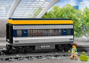 LEGO-City-Passenger-Train-60197-Passengers-Carriage-Only-No-Power-Up-Parts-New