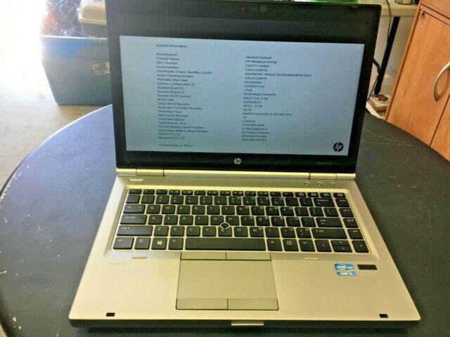 "HP EliteBook 8470P 14"" Intel Core i5-3230M 2.60GHz 8GB 500GB Win 10 Laptop"
