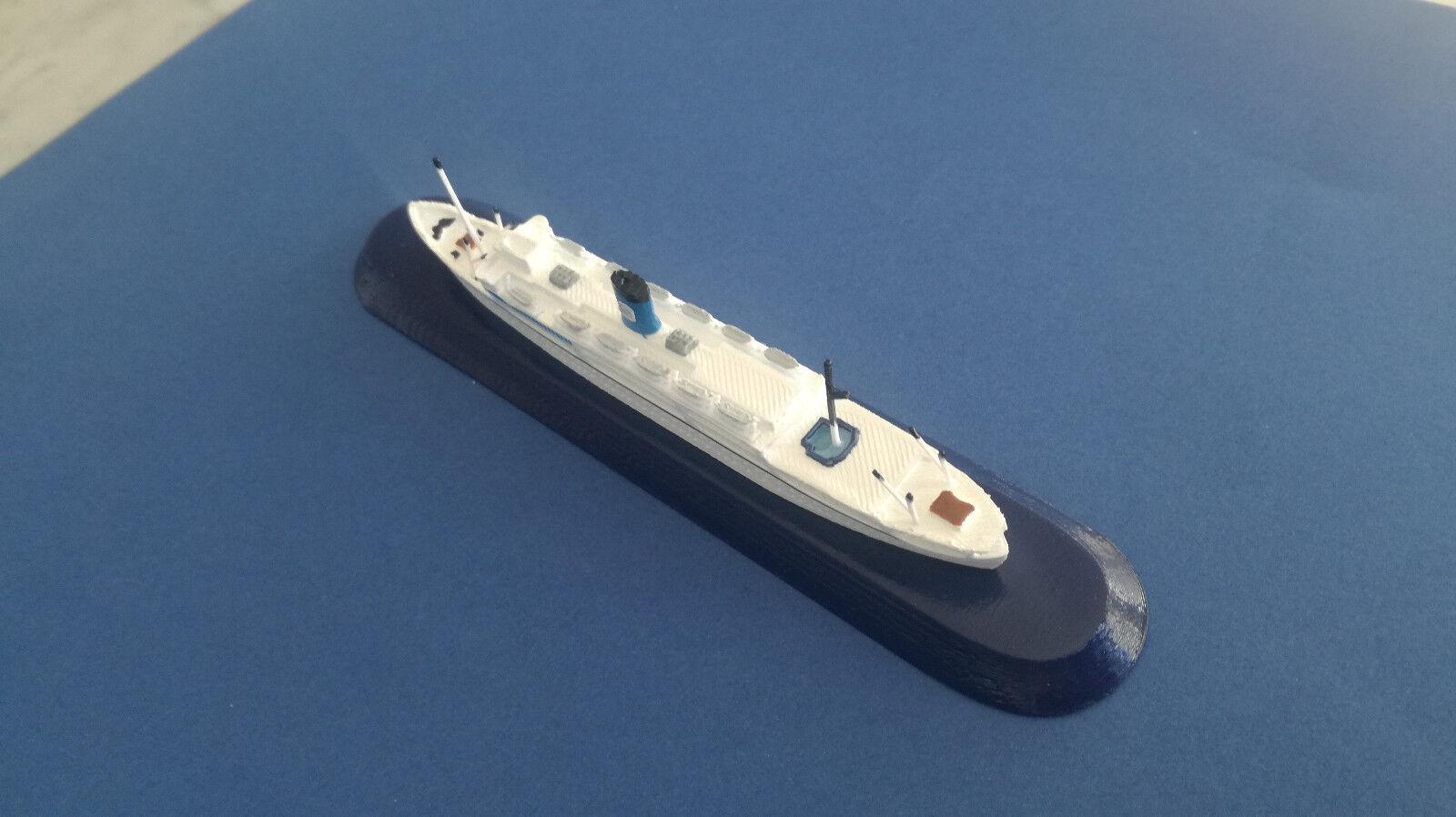 Nave ASCANIA anni 50 Ex Florida    SIOSA line  FRATELLI GRIMALDI model ship 1 1250 bc8be2