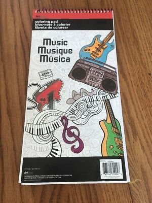 Trends International  Music Mini Coloring Poster Pad AZ0904