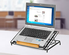 Adjustable Portable Laptop Computer Desk Table PC Notebook Bed Sofa Tray Stand