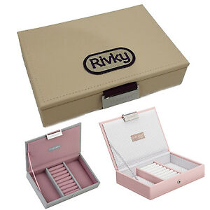 Details About Personalised Jewellery Box Valentines Day Wedding Gift For Her Stackers Leather