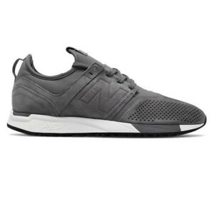 Details about New Balance MRL247LY Men's Suede 247 Lifestyle Shoe Grey