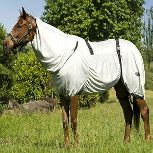 Horse Summer Turnout Sweet Itch Insecte Mouche Tapis Combo Couverture PONEY S/N Full 4' 9-7' 0