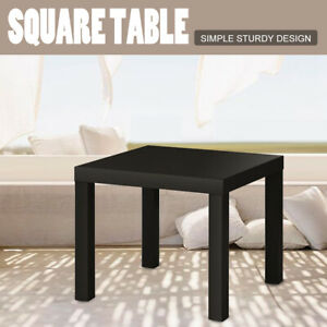 Stupendous Details About Small Square Side Table End Bedside Wood Coffee Tea Living Room Home Furniture Short Links Chair Design For Home Short Linksinfo