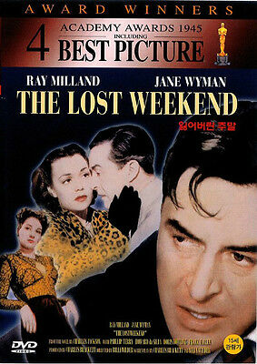 The Lost Weekend (1945) New Sealed DVD Ray Miland