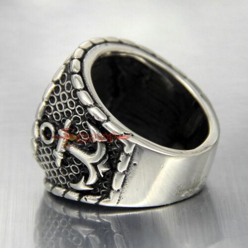 Men/'s belt buckle 7.3cm dragon head black pattern bronze metal pin buckles Lq