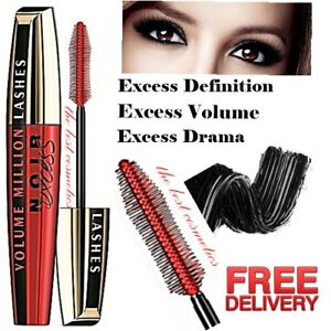 187fd02b7ee New L'Oreal Volume Million Lashes Noir Excess Eyes Mascara Extra ...