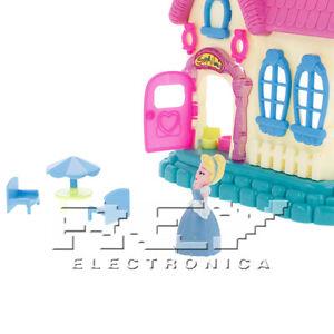 Casa De Princesas Juguete Casita Munecas Juego Ninos 3 Anos J178
