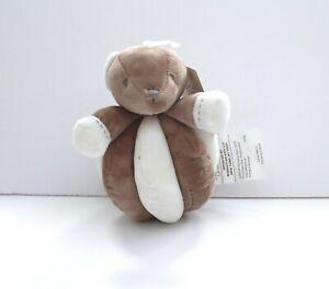 Manhattan-Kids-Brown-Teddy-Animal-Plush-Rattle