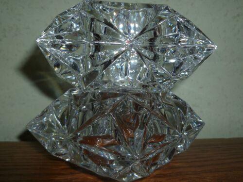 PartyLite Quad Prism Tealight Votive Holder ~ Excellent Pre-Owned Condition ~