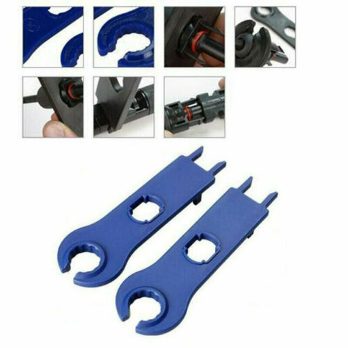 2* Hard Plastic Solar Panel Disconnect Spanners Wrench Tools Connectors Useful