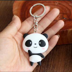 Silicone-Panda-Cartoon-Keychain-Bag-Pendant-Key-Ring-Kawaii-Gift-Present-HGUK
