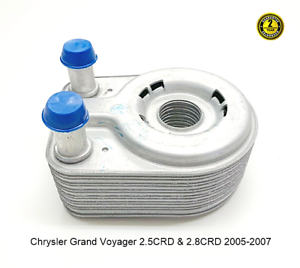 For-Chrysler-Voyager-2-5CRD-amp-2-8CRD-Engine-Oil-Cooler-2005-2007