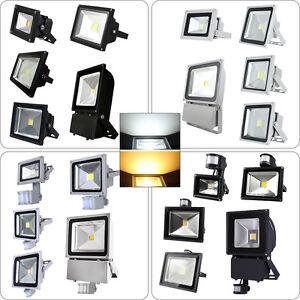 led fluter strahler flutlicht scheinwerfer ip65 au en smd 10w 20w 30w 50w 100w ebay. Black Bedroom Furniture Sets. Home Design Ideas