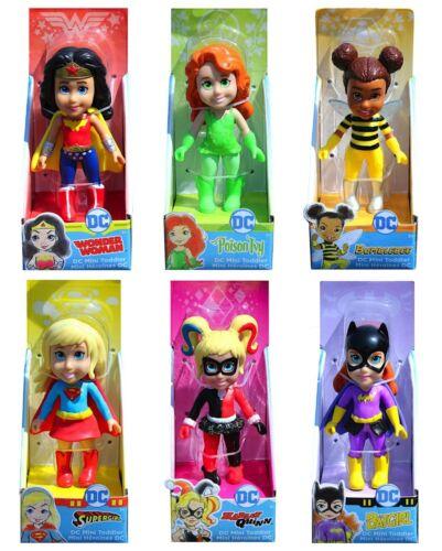 """DC Superhero Girls Mini Poseable Dolls 3.5/"""" Toddler Doll"""