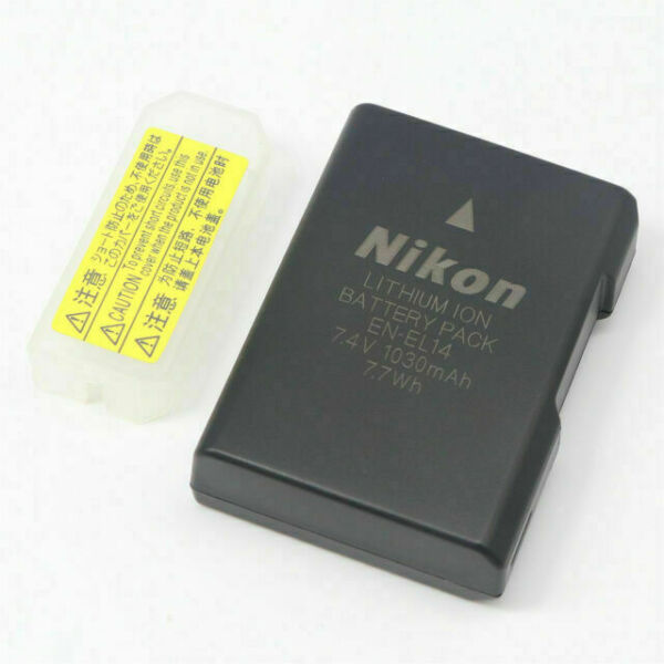 Nikon Enel14 1030mah Li Ion Battery For Sale Online Ebay