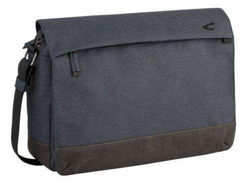 camel active Hong Kong Messenger Laptoptasche Umhängetasche Tasche Blue Blau Neu