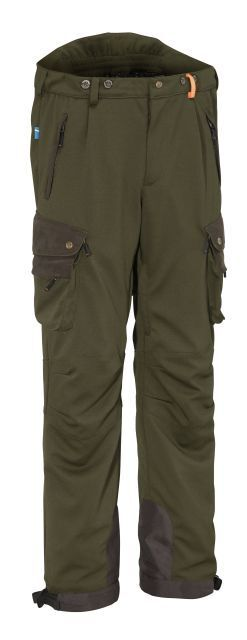 Swedteam Hunting Trousers Crest Therm Classic - Olive Green - Membrane -