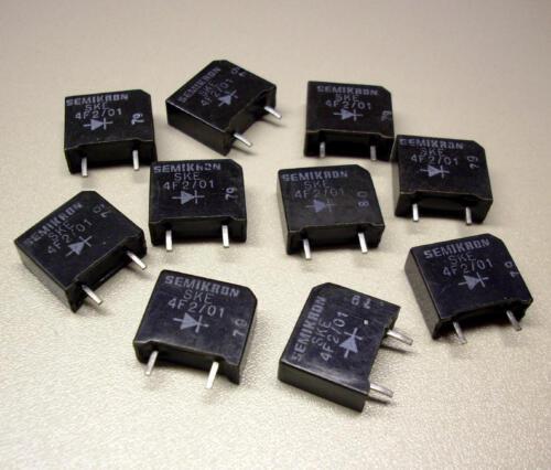 10 Stück SKE 4F2//01 Dioden Rectifier Diode 100V M3123 1 Element 2A