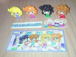FASHION DOLLS COMPLETE SET WITH ALL PAPERS KINDER SURPRISE EGG TOYS 2017/2018