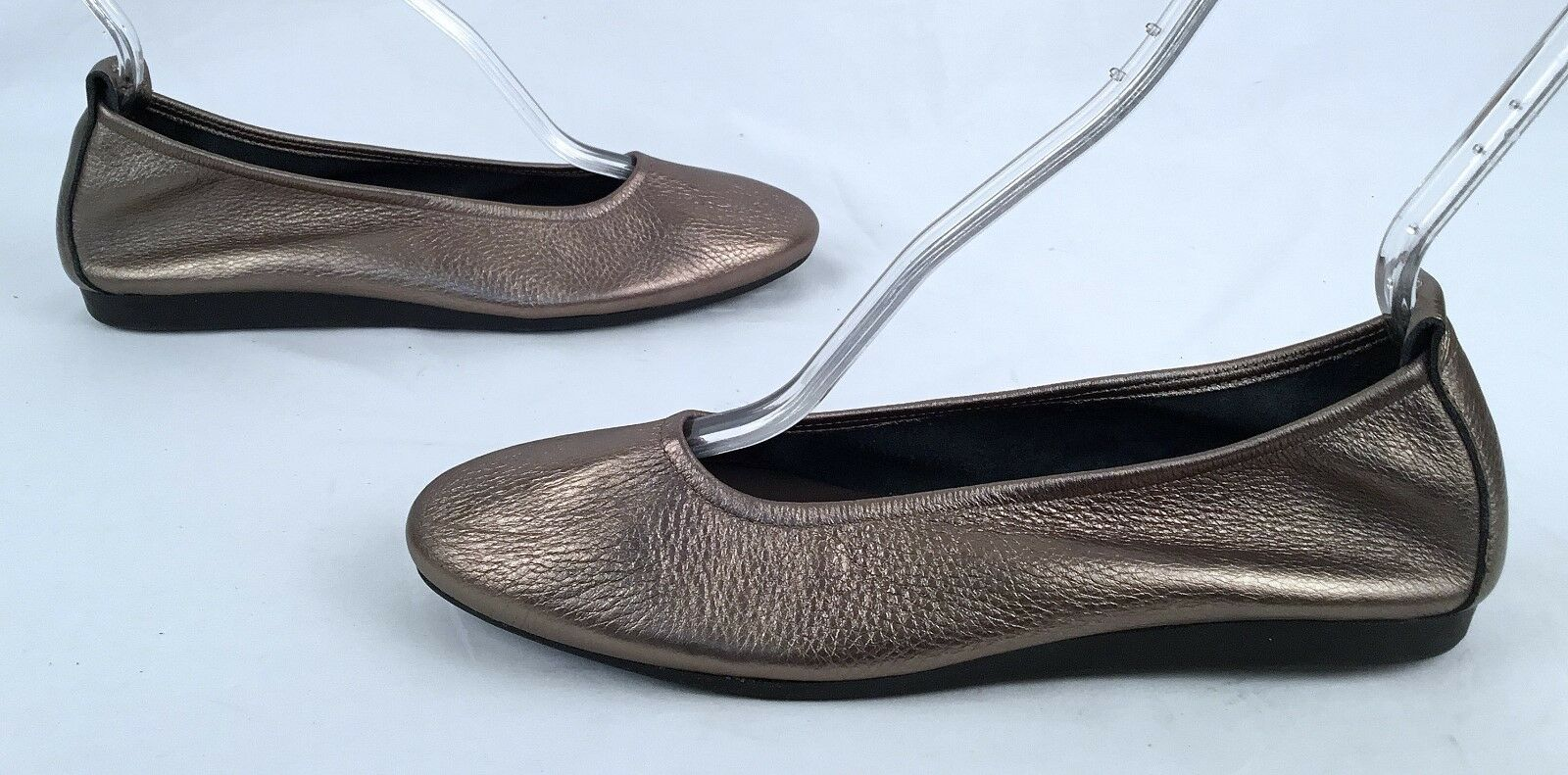 NEW   Arche 'Laius' Flat -Metallic Bronze -Taille 9 US  40 EU   295-(J7)