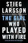 The Girl Who Played With Fire von Stieg Larsson (Taschenbuch)