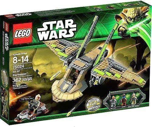 Lego star wars HH-87  STARHOPPER (75024) neuf en boîte scellée  première réponse